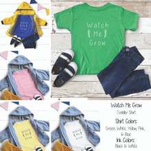 Load image into Gallery viewer, Watch Me Grow Toddler Tee