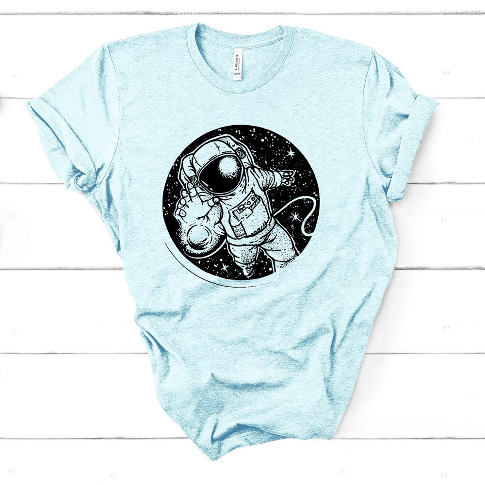 Out of This World Astronaut Graphic Tee