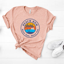 Load image into Gallery viewer, Beach Bum More Fun Graphic Tee