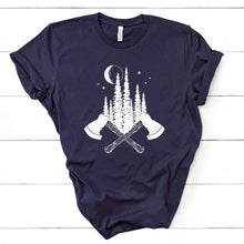 Load image into Gallery viewer, Forest Axe Graphic Tee