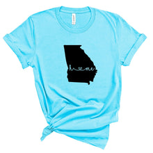 Load image into Gallery viewer, Home State Graphic Tee For All 50 States