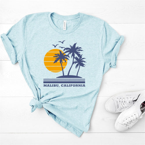Malibu California Graphic Tee