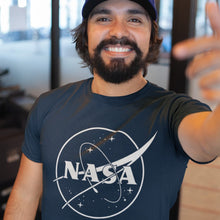 Load image into Gallery viewer, NASA Galaxy Graphic Tee