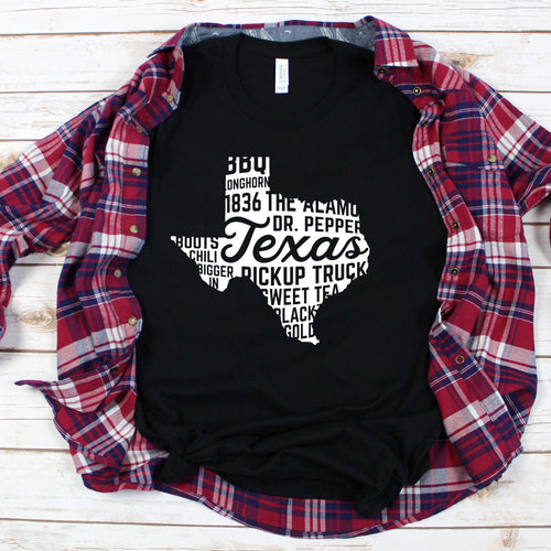 Texas - State Love - Graphic Tee