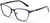Tango Optics Browline Metal Eyeglasses Frame Luxe RX Stainless Steel Catherine Johnson Blue For Prescription Lens