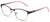 Tango Optics Browline Metal Eyeglasses Frame Luxe RX Stainless Steel Katharine Burr Blodgett Purple For Prescription Lens