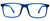 Blue Blockers Computer Screen Horn Rimmed Glasses Anti Glare and Anti Scratch Break Resistant High Flexibility TR90 Blue-Samba Shades
