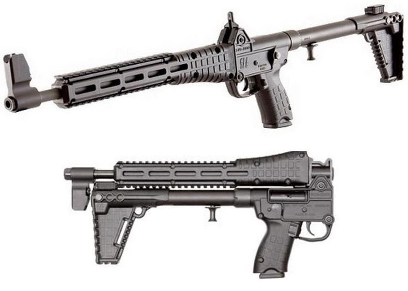 KEL-TEC SUB2K Folding Pistol Caliber Carbine  9MM