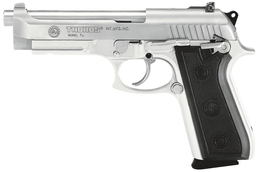 Taurus Model PT-92 .9mm 17-shot stainless