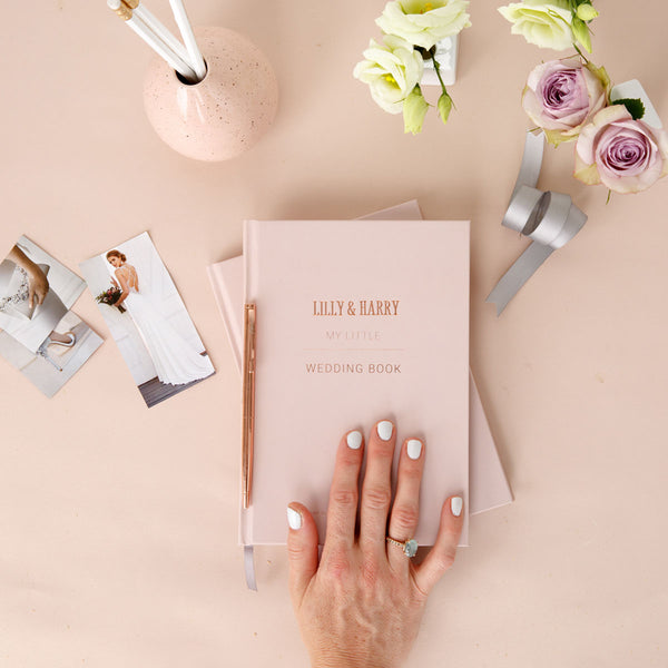 Blush Wedding Planner Book