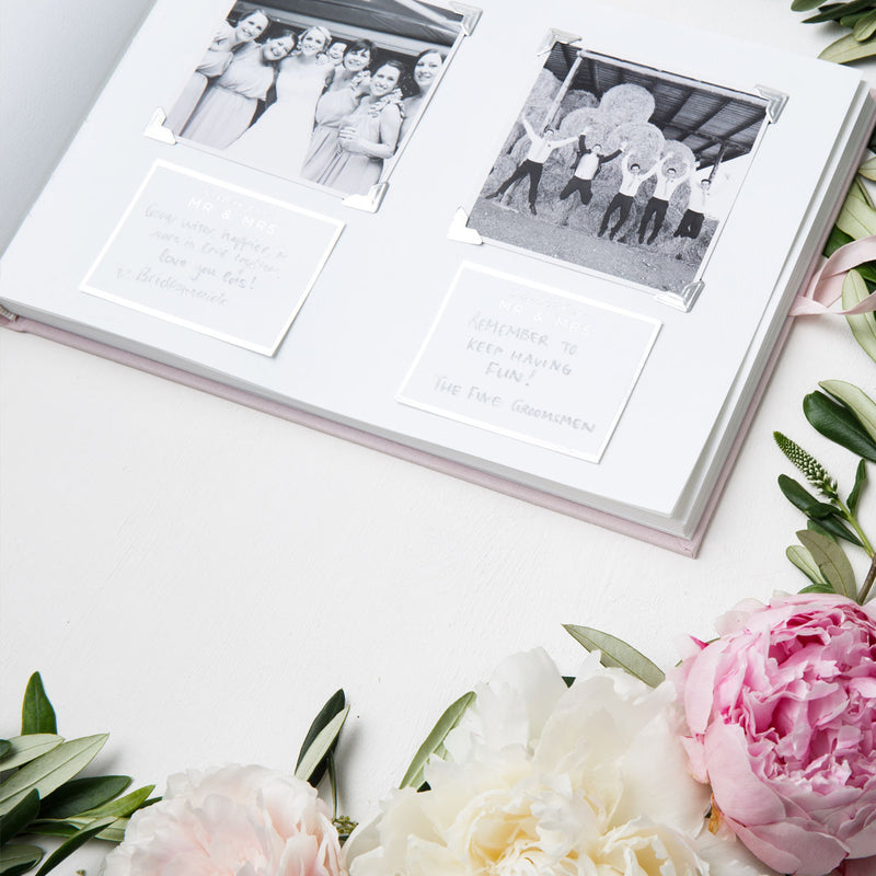 'Wishes for the Mr & Mrs' Guestbook Prompts