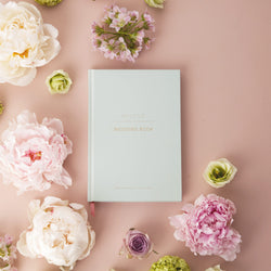 Eau de Nil Wedding Planner Book