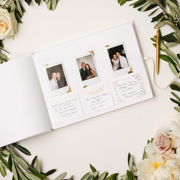 Prompt Card & Photocorner Packages for Wedding Guestbook