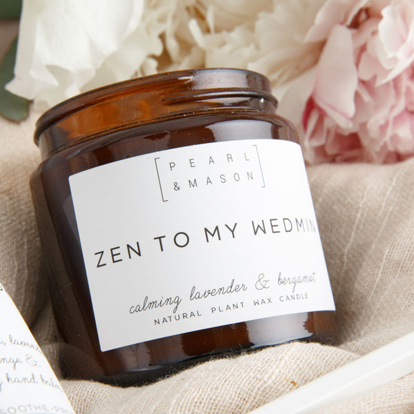'Zen to my Wedmin' Lavender Candle