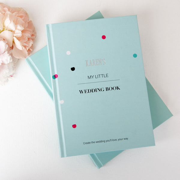 Confetti Mint Wedding Planner Book