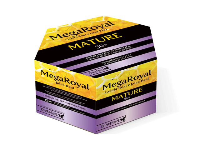 MEGAROYAL MATURE | 20 X 15ML AMPOLLAS