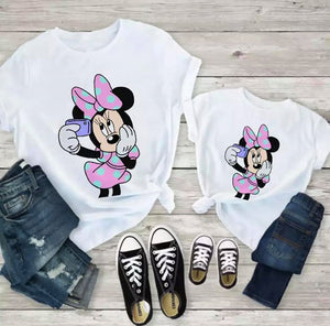 Set Tricouri Mama si Copilul Minnie Lovely #4