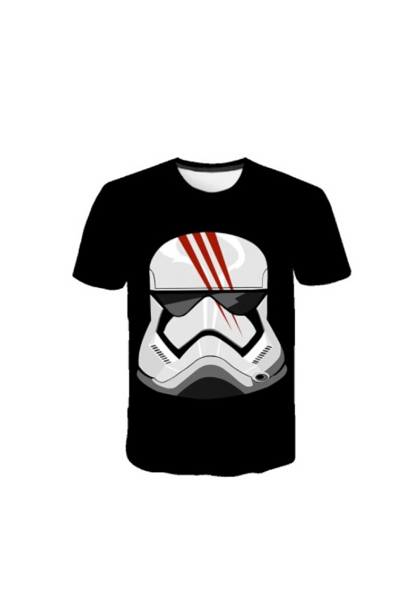 Tricou Negru Star Wars Clone Trooper