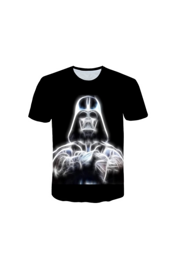 Tricou Copii Negru Star Wars Darth Vader #4