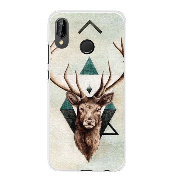 Husa Huawei P20 Lite Abstract Deer - Prestige-Boutique.ro
