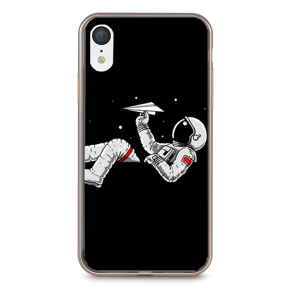 Husa iPhone XR Astronaut and airplane