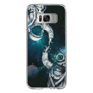 Husa Samsung Galaxy S8 Plus Astronaut and Scubadiver