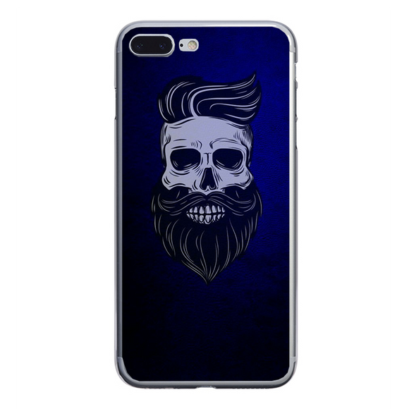 Husa iPhone 7 Plus Barber Skull