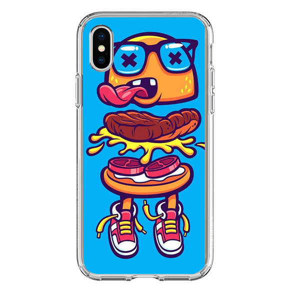 Husa iPhone X Dead Hamburger
