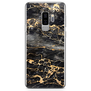 Husa Samsung Galaxy S9 Plus Gold Marble