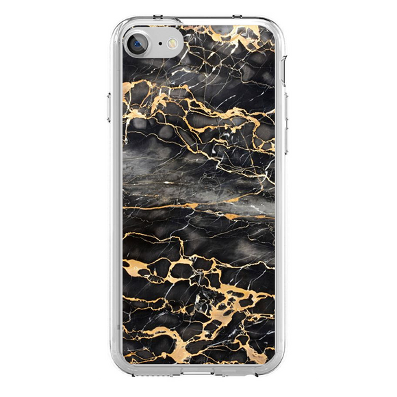 Husa iPhone 7 Gold Marble