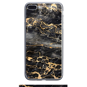 Husa iPhone 7 Plus Gold Marble