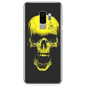 Husa Samsung Galaxy S9 Plus Gold Skull