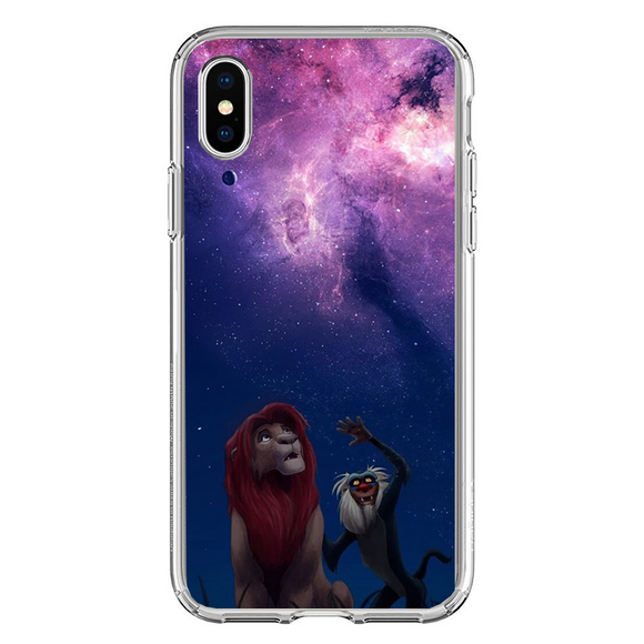 Husa iPhone X Lion King