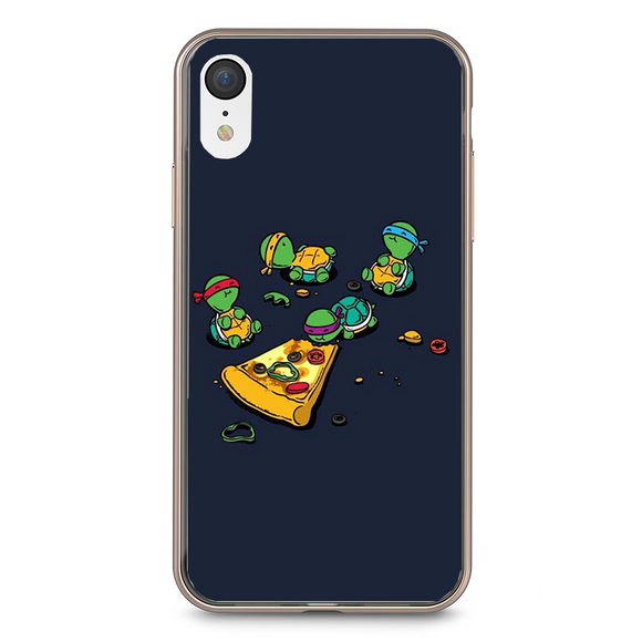 Husa iPhone XR Mini Ninja Turtle