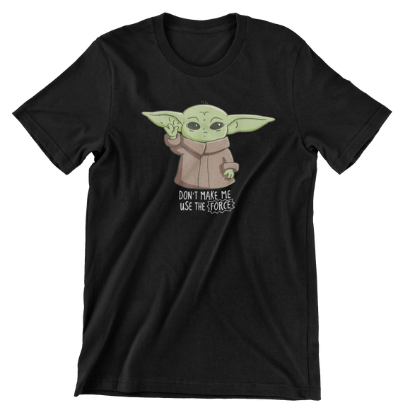 Tricou Copii Negru Star Wars Don't Make Me