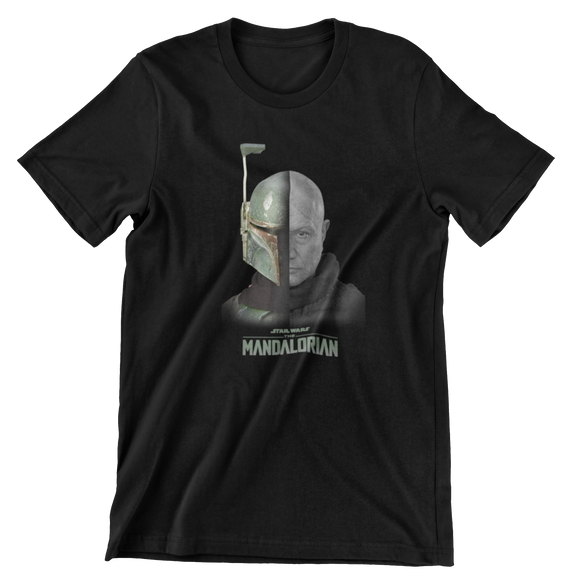 Tricou Copii Negru Star Wars The Mandalorian #3