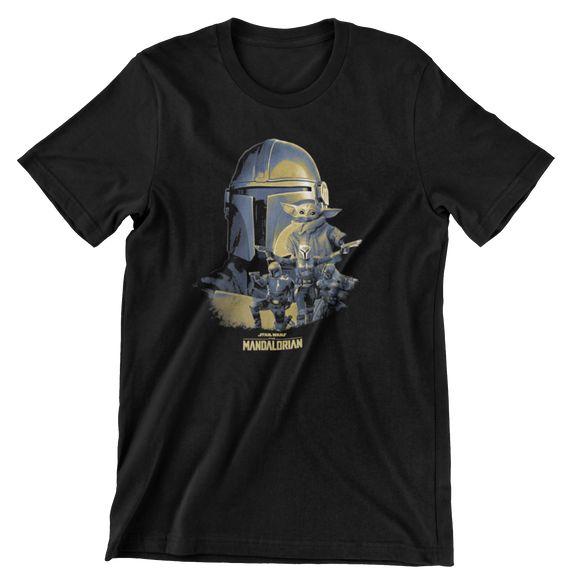 Tricou Copii Negru Star Wars The Mandalorian #5