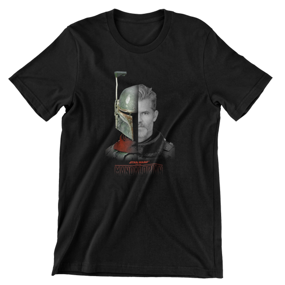 Tricou Copii Negru Star Wars The Mandalorian #6