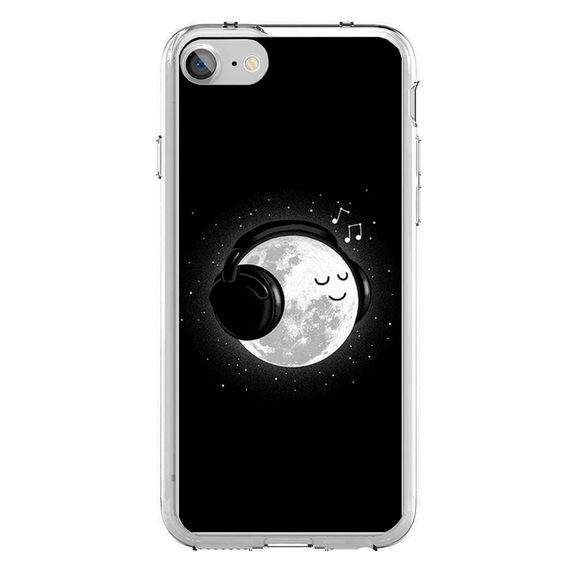 Husa iPhone 7 moon and Music