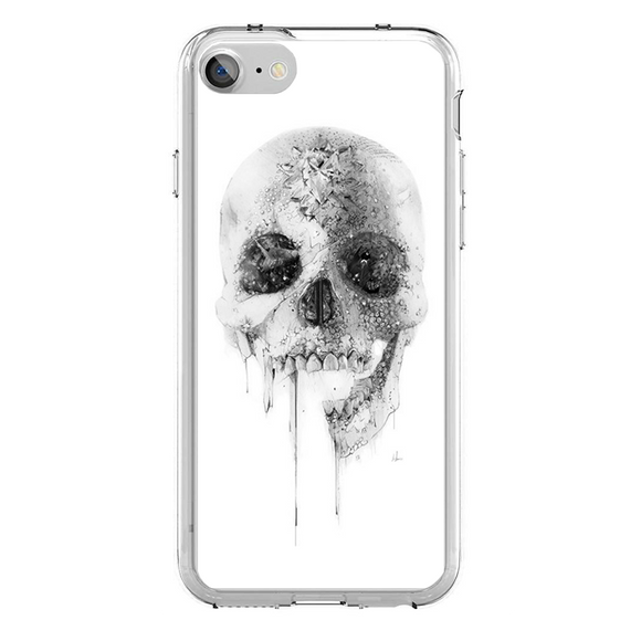 Husa iPhone 7 White Skull