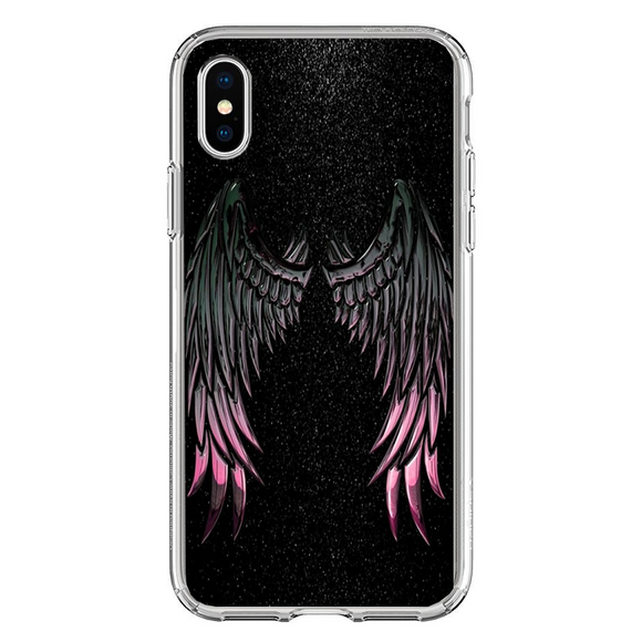 Husa iPhone X Wings Galaxy