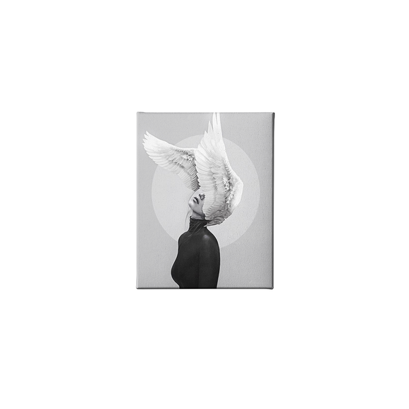 Tablou Canvas Abstract woman wings
