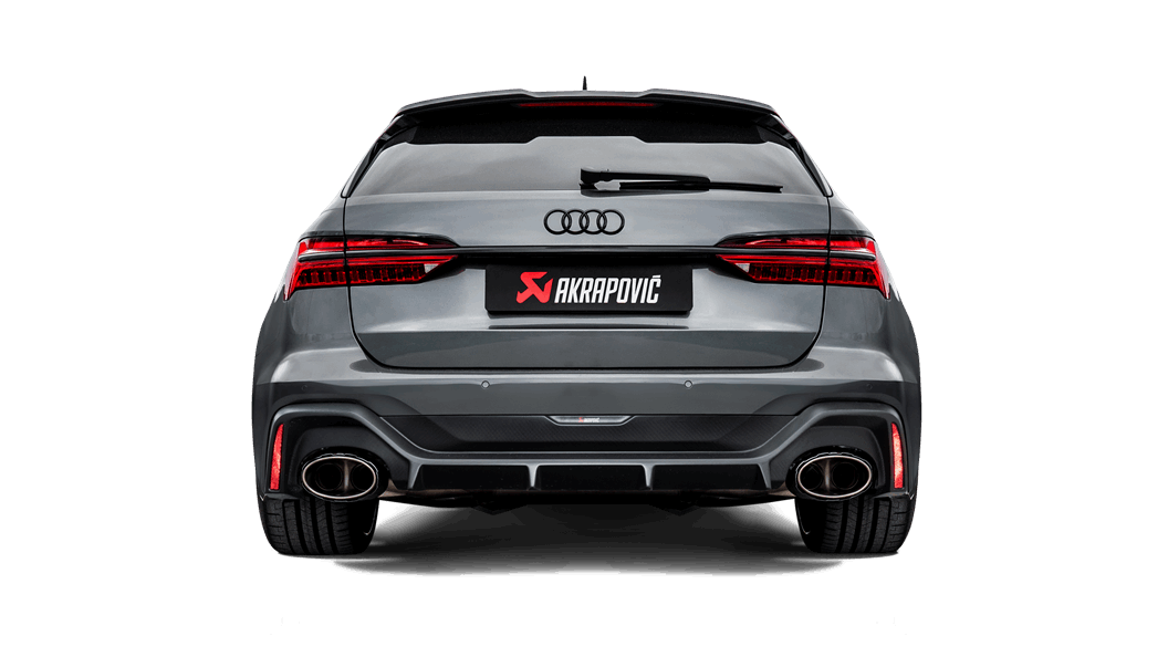 SCB PRODUCT SPECIAL:  EVOLUTION LINE AUDI RS6 AVANT (C8) 2020 EXHAUST SYSTEM