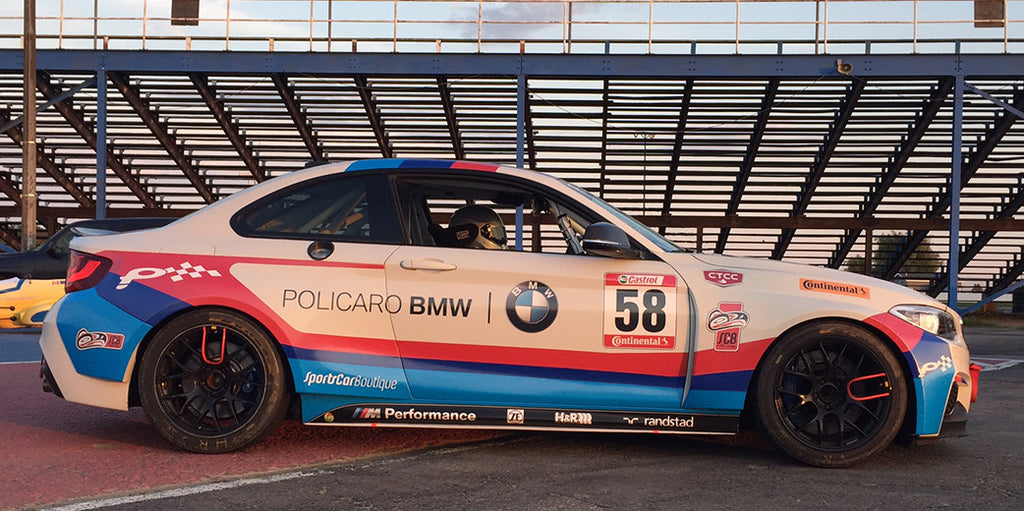 SCB Racing acquires BMW M235iR for the 2017 Season