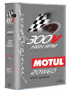MOTUL ENGINE OIL 300V LE MANS 20W60 2L - SportsCarBoutique