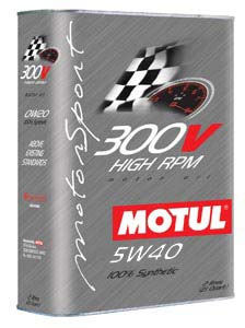 MOTUL ENGINE OIL 300V POWER 5W40 2L