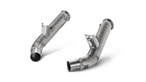 Alfa Romeo Giulia Quadrifoglio (2017-2020) - Downpipe Set w/o Cat (SS) - SportsCarBoutique
