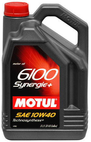 MOTUL ENGINE OIL 6100 SYNERGIE+ 10W40 5L