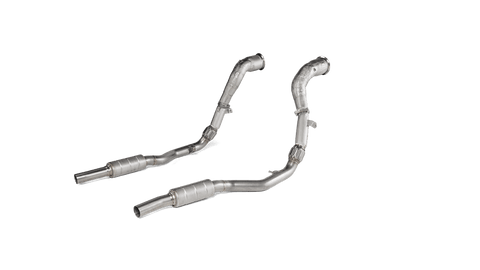 Audi RS Q8 (4M) (2020-2021) - Downpipe Set - Link pipe (SS)