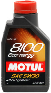 MOTUL ENGINE OIL 8100 ECO-NERGY 5W30 1L - SportsCarBoutique